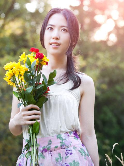 滿版鏤空小花造型七分袖罩衫